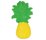 Enjoy the warm weather at your tropical theme party or Hawaiian luau. Pin it up on the wall or lay it down somewhere. It's up to you! If you're having a luau, then you're going to need this pineapple! Comes one per package.