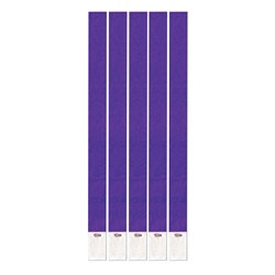Purple Tyvek Wristbands