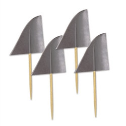 Shark Fin Picks (50/pkg)