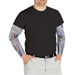Take your robot Halloween outfit to the next technological level with these Robot Party Sleeves. These fashionable sleeves are made of nylon and polyester and measure 19 inches in length. Comes two pieces per package.