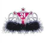 "Light Up ""21"" Tiara"