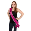 Naughty Girl Satin Sash