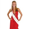 Prom Queen Satin Sash
