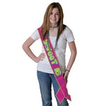 Sweet 16 Satin Sash