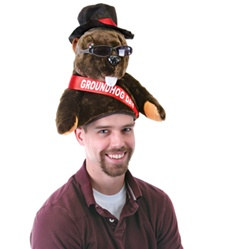Plush Groundhog Day Hat