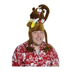 Plush Monkey Hat