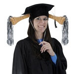 Plush Graduation Shaker Cap