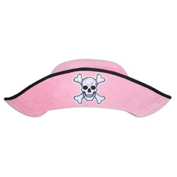 Pink Felt Pirate Hat