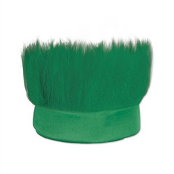 Green Hairy Headband