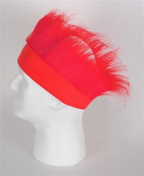 Red Hairy Headband