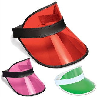 Plastic Dealer's Visor (Select Color)