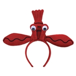 Our Lobster Headband is the perfect accessory for an under the sea party or nautical theme party. Just slip the headband on top of your head and the design will do the rest! It will comfortably fit the average-sized hat and comes one per package.