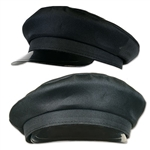 This black Chaueffeur Hat is a one size fits most and carries a very sophisticated black color. Just remove the hat from the packaging and put it on like any normal hat! Comes one hat per package.