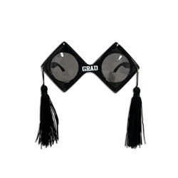 Black Graduation Fanci-Frames