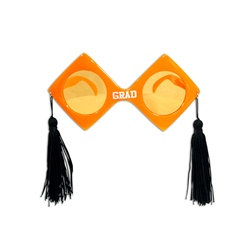Orange Graduation Fanci-Frames