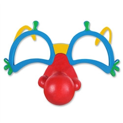 Clown Glasses with Nose