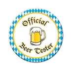Official Beer Tester Button