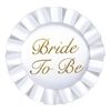Bride To Be Satin Button