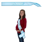 It's A Boy! Satin Sash