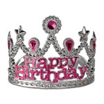 Plastic Happy Birthday Tiara