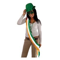 Irish Satin Sash