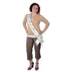 Matron Of Honor Satin Sash