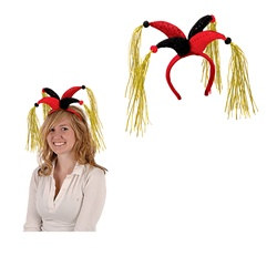 Tassled Jester Headband