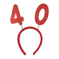 """40"" Glittered Boppers"