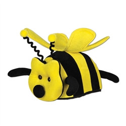 Plush Bee Hat