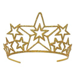 Star Glittered Tiara