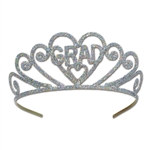 Glittered Metal Grad Tiara
