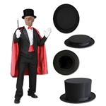 This Magic Top Hat is the perfect way to finish off your magician costume for Halloween or an upcoming theme party.