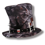 You'll cast a spell at the party with our Plush Voodoo Hat!  Just right for your next Mardi Gras, fantasy or Halloween themed event
