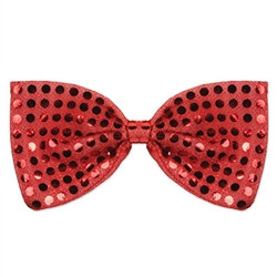 Red Glitz N Gleam Bow Tie