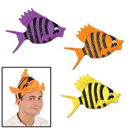 Luau Fish Hat