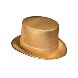 Gold Theatrical Top Hat