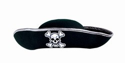 Adult Felt Pirate Hat