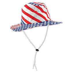 Patriotic Flag Hat (1/pkg)