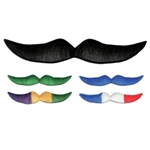 Colorful Hairy Mustache