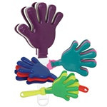 Assorted Mini Hand Clappers (1/pkg)