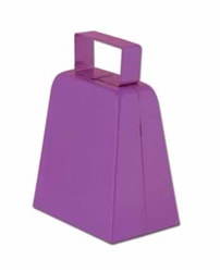Purple Cowbells, 4in