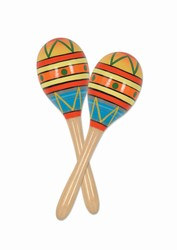 Fiesta Fun Party Maracas (2/Pkg)