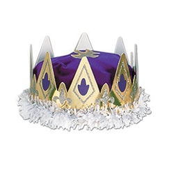 Purple Royal Queens Crown