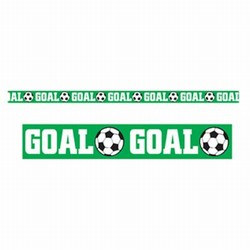 Goal Soccer Party Tape