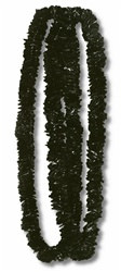 Black Soft Twist Poly Leis (sold 12 per box)