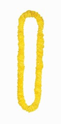 Yellow Soft Twist Poly Leis (sold 12 per box)