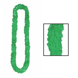 Green Deluxe Soft-Twist Poly Leis