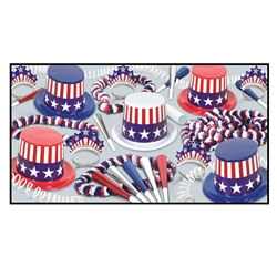 Spirit of America Party Assortment (For 50 People)