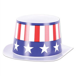 Miniature Patriotic Topper Hat