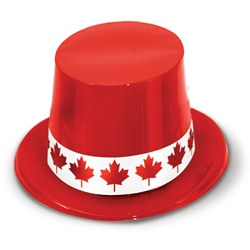 Canada Day Topper Hat